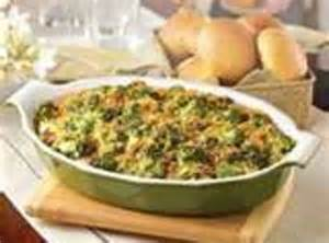 broccolimushroom casserole