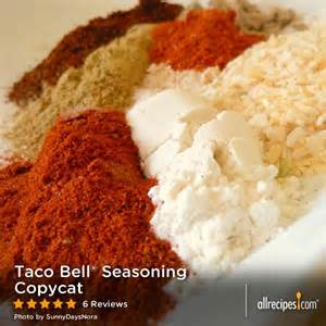 tacobellseasoning