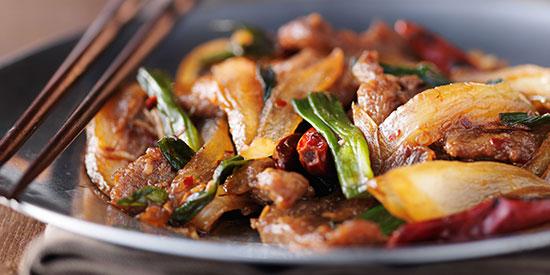 Szechuan Bison Stir Fry