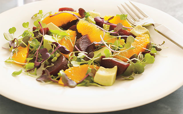 beet-avocado-orange-salad